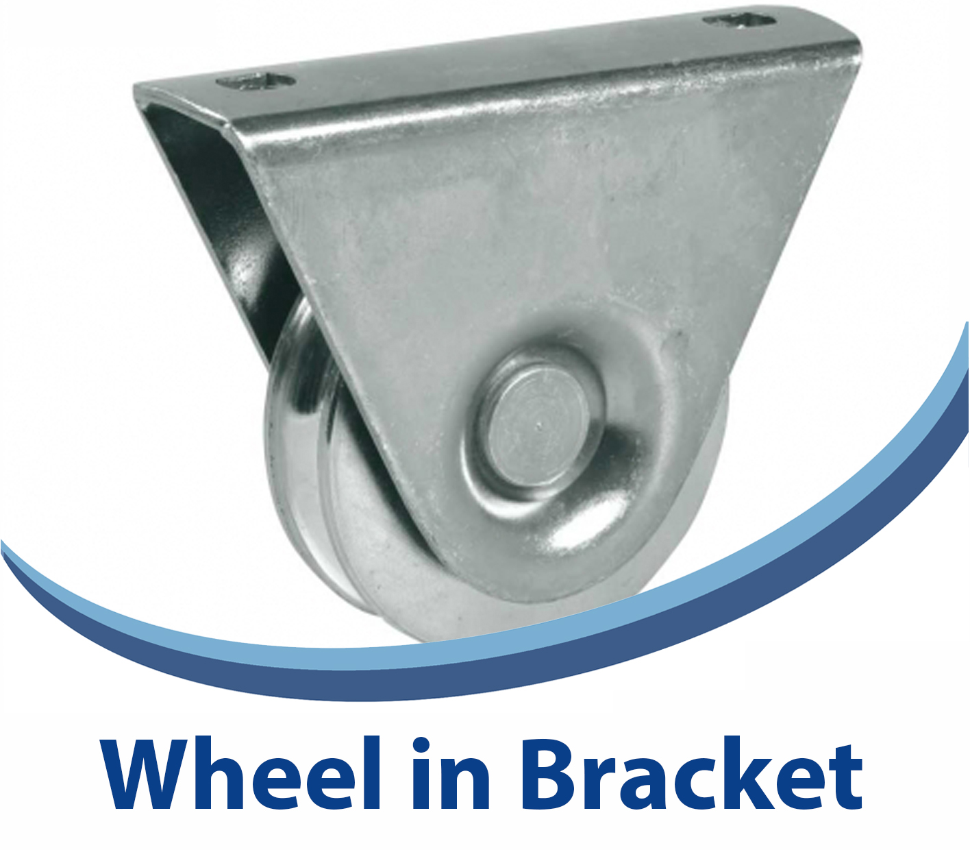 Wheel in Bracket