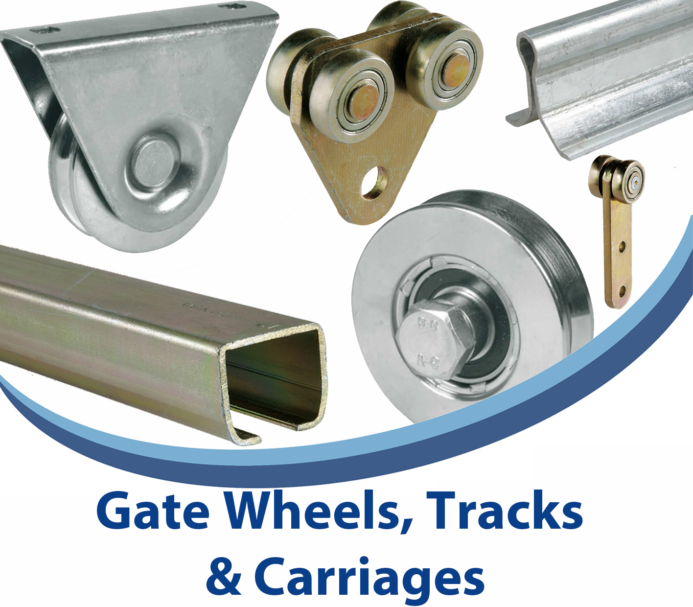 Gate Wheels, Tracks & Carriages