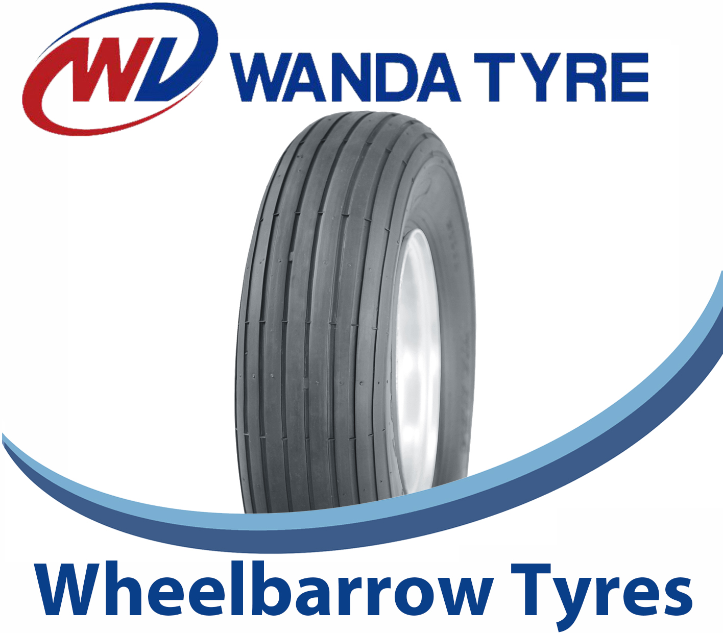 Wheelbarrow & Hand truck Tyres